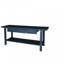Metallist töölaud 2000x640x865, 3 sahtlit; PT/SC79111