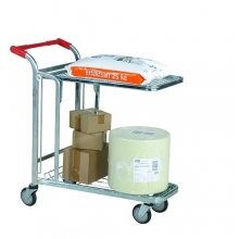 In-Store trolley 2 shelves 1030x1020x530mm