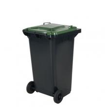 Refuse bin 240L, green lid