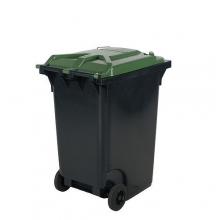 Refuse bin 360L, green lid