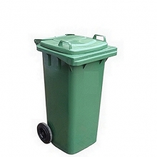 Refuse bin 240L green