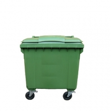 Prügikonteiner 660L roheline