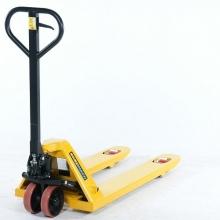 Pumptõstuk 1150x520mm 2,5t, PU-rattad kollane tandem rullik