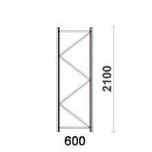Frame H2100xD600mm   55*47*1,5