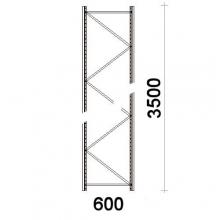 Frame 3500x600mm 55*47*1,5