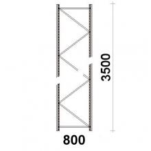 Frame 3500x800mm