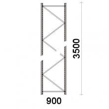 Frame 3500x900mm 55*47*1,5