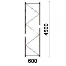 Frame H4500xD600mm 55*47*1,8