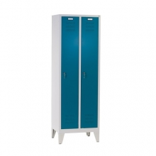 2 door locker with legs 1850x610x500