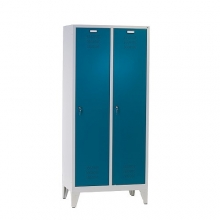 2 door locker with legs 1850x810x500