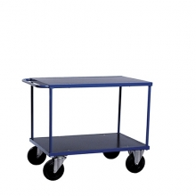 Shelf trolley 2 shelves 1000x700x870mm, 500kg