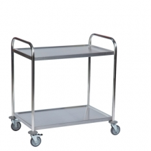 Stainless trolley 910x590x940mm, 100kg