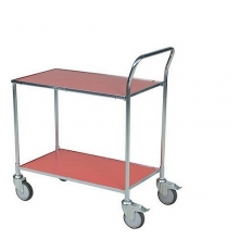 Table top trolley 830x465x985, red