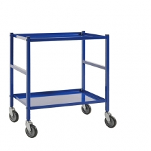 Table top trolley 690x430x750, blue