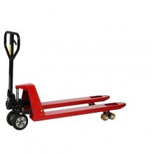 Kahvelkäru 1150x540/2500 kg kummirattad/PU tandem rullik; punane