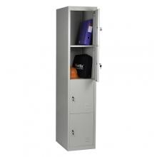 4-tier locker, 4 doors 1820*380*500