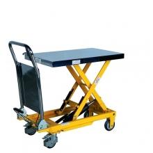 Tõstelaud ratastel 700x450 mm 150 kg