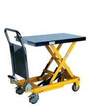 Tõstelaud ratastel 850x500 mm 500 kg