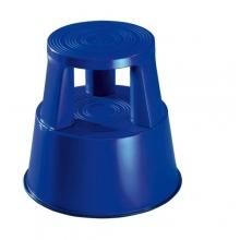 Plastic kickstool, blue, Wedo