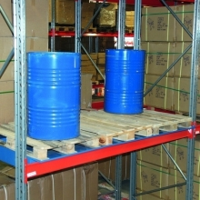 Drum tray hanging f 2 drums 245L 1700x1300x185
