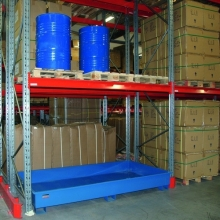 Drum tray standing f. 3 drums 2680x1300x840