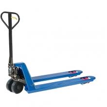 Kahvelkäru 1150x540/2500kg PU rattad, tandem rullik, sinine
